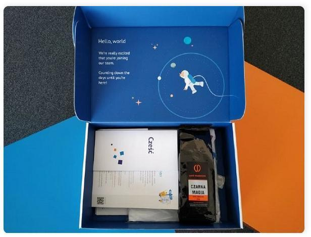 onboarding pracownika welcome pack